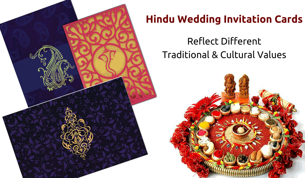 Beautiful Different Types of Indian Wedding Invitation Cards – Hindu Wedding Invitation Cards Designs